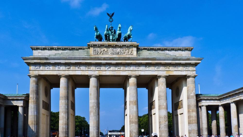 Brandenburg gate cursus Duits