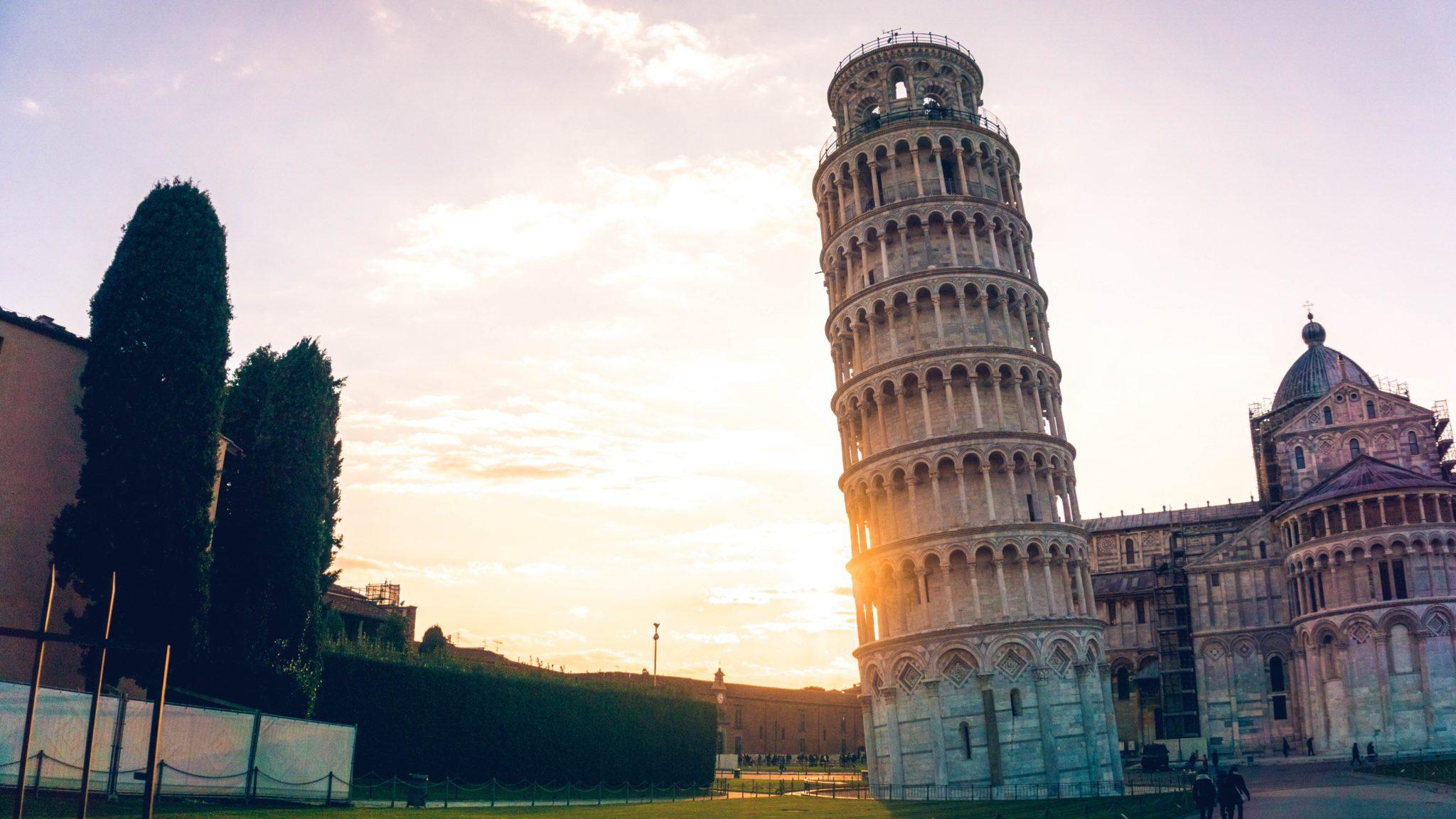 Toren van Pisa Taalcursus Italiaans